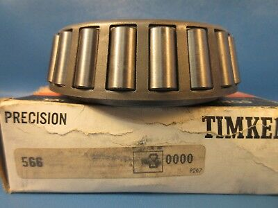 Timken 566#3 Precision Grade Tapered Roller Bearing Single Cone