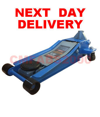 3 Ton Tonne T Floor Trolley Jack Ultra Low Entry Profile  Only 75mm ( 70MM ??  )