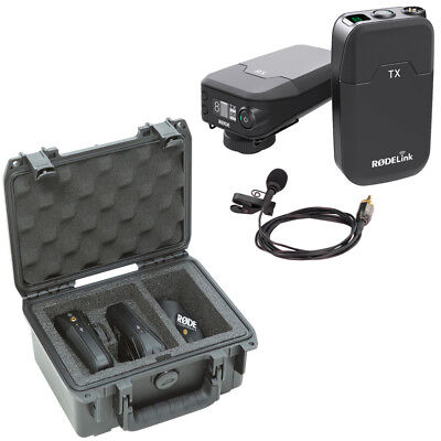 Rode RodeLink Wireless Filmmaker Kit with SKB iSeries RodeLink Wireless Case