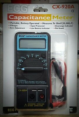 Cx-920A Capacitance Meter *ships From The Usa*