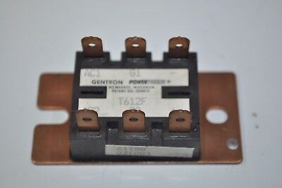 Gentron PowerTherm Thyristor Power Module Model# T612F 61150 031083