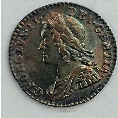 1750 Maundy Penny, Almost Uncirculated, Superb, George II