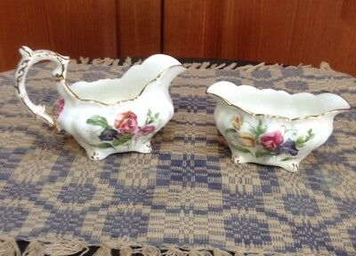 Vintage Beautiful  Hammerstery & Co. Creamer & Bowl