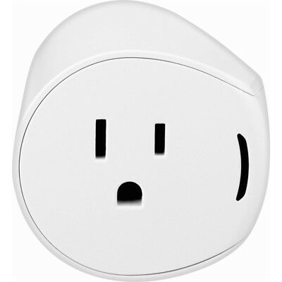 Samsung SmartThings Smart Outlet 2 Power Cable Adapter in White
