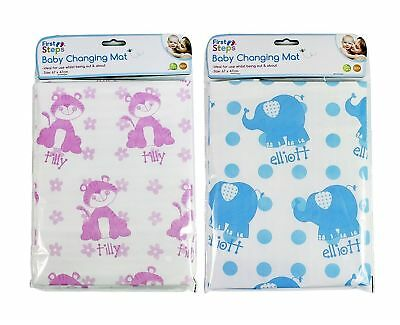 BABY TRAVEL CHANGING MAT SUITABLE FOR HOME & AWAY PINK or BLUE  UK SELLER,