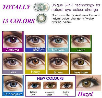 Fresh Contact Lenses Kontaktlinsen color contact lens color ONE PAIR