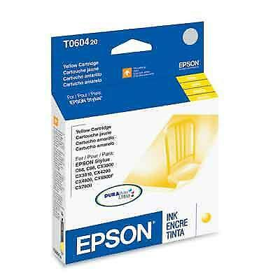 Epson T060420 400 Pages Yellow Original Ink Cartridge