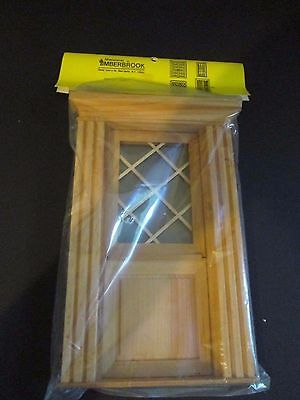 Vintage Miniatures by Timberbrook #880 Dutch Door component 1:12 scale