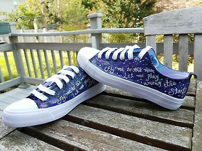 3dcb04e9fa77 Hand Painted Custom Shoes Frank Sinatra Canvas Sneaker Custom Shoes ANY SIZE
