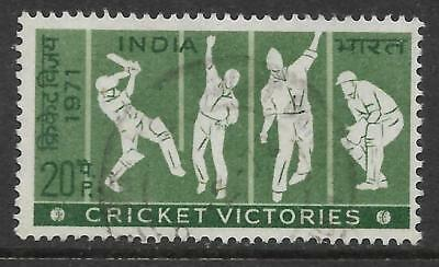 INDIA 1971 TEST CRICKET VICTORIES 1v Fine Used (No 3)