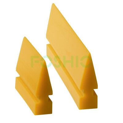 2 Size Rubber Squeegee Car Window Tinting Turbo Blade Clean Application Tools