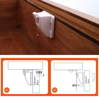 4Pcs Magnetic Safety Invisible Cupboard Lock Baby Child Pet Drawer Security