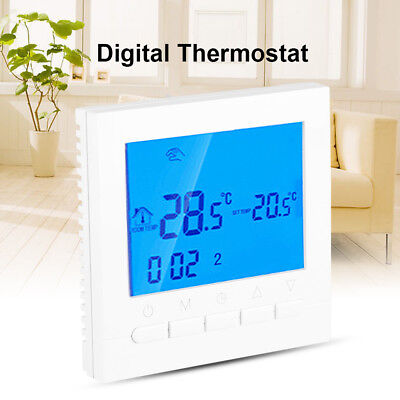 HOT Programmable Wireles Wifi Digital LCD Heating Thermostat Phone App Control