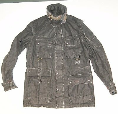 Jackets Barbour South Shields Limited Edition TO KI TO Outer linen Zipper Lampo
