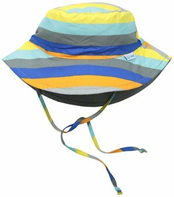 i play. Chapeau Solide Protection Gris Multi Rayure 2-4 Ans
