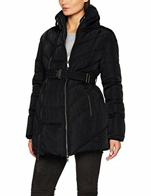 Noppies Jacket Lise 2-Way 70648, Giacca Premaman Donna, Nero (Black C270), XS (T