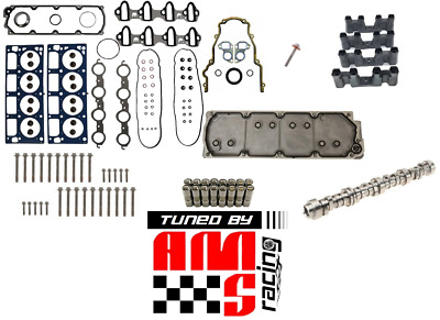 07-11 Gm Chevy 5.3L Afm Dod Delete Kit & Tuning Camshaft Gaskets Bolts Lifters