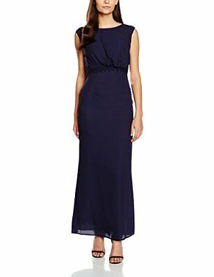 Elise Ryan Lace Back, Abiti Regolari Donna, Blue (Navy), 36
