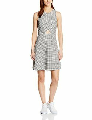 Vero Moda VMUBANA SL SHORT DRESS DA-Vestito  Donna    White (Snow White) 40