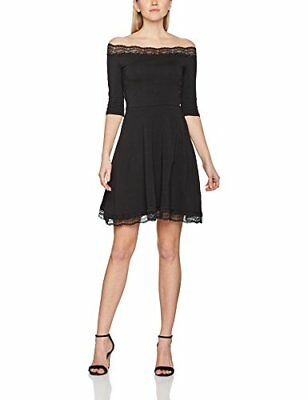Dorothy Perkins Lace Bardot, Gonna Donna, Black, 42