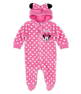 Minnie Maus Baby Overall Minnie Mouse Jumpsuit Strampler Gr.   62  - 92