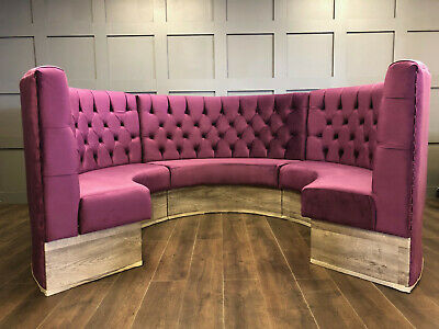 Bespoke Commercial Seating, Booth Seating, Barber Shop Seating (£100 Per Foot)