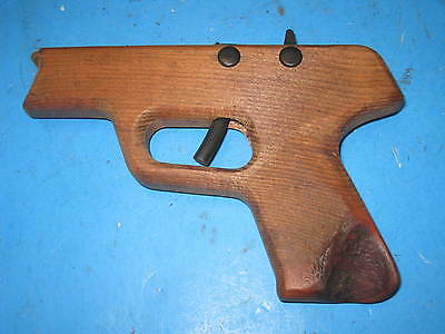 Pocket Pistol 45 style  Repeater Rubber band shooter Gun  6T3