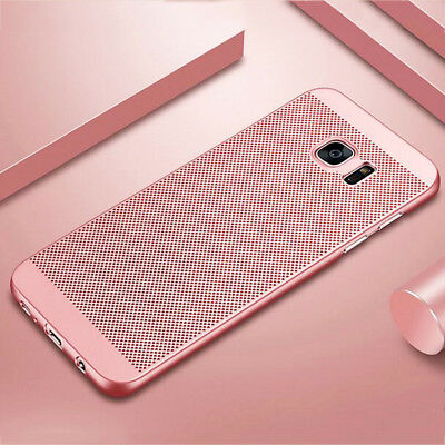 For Samsung Galaxy S9 Plus Note 9 A7 A9(2018) J4 J6+ Breathable Mesh Cover Case