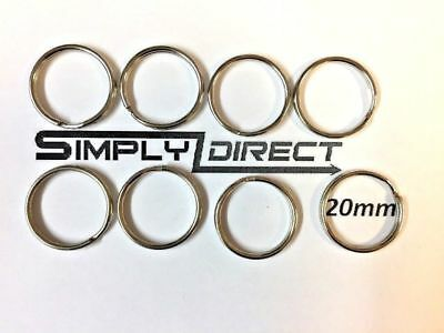 Split Rings Key Ring - 20mm - Pack Size 5 to 500 - keyring