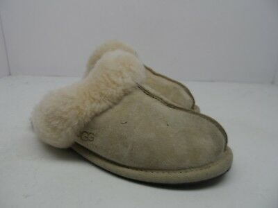 8110118aa17 UGG AUSTRALIA WOMEN'S Scuffette II Sheepskin Slipper Midnight Size ...