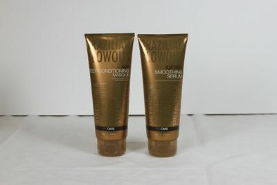 Brazilian Blowout Acai Deep Conditioning Masque and Acai Smoothing Serum