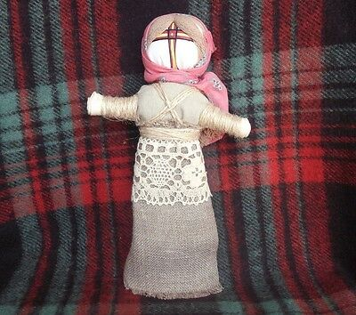 "Handmade Scythian-Sarmats-Slavic Charm-Amulet Big Doll Motanka "" From the evil """