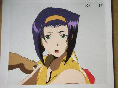 Cowboy Bebop Faye Valentine Anime Production Cel 24