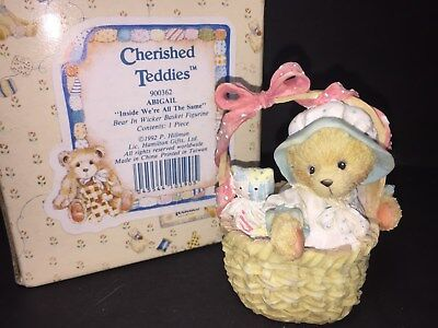900362 Abigail Inside We're All The Same FREE SHIP CHERISHED TEDDIES