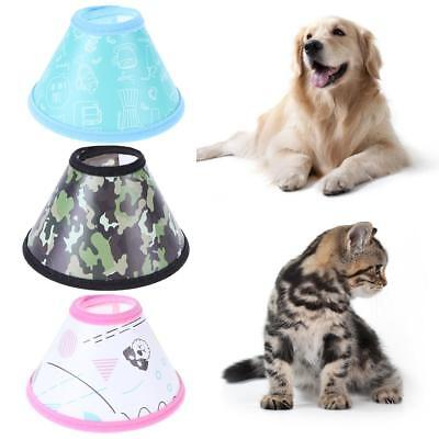 Elizabethan E-collar Pet Dog Cat Puppy Protection Cover Wound Healing Collar NEW