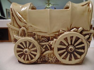 Vintage McCoy Covered Wagon ~~ MUST SEE !!~~~ MADE IN THE U.S.A