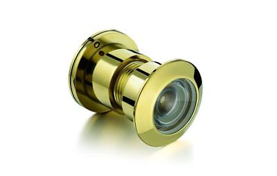 TOGU TG3828YG-PVD Brass UL Listed 220-degree Door Viewer with Heavy Duty Privacy