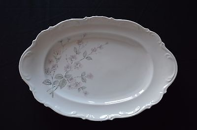 Mitterteich Bavaria Germany China Pattern Fragrance Large Serving Platter