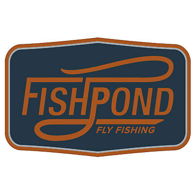 """Fishpond Double Haul 5"""" Decorative Bumper Fly Fishing Sticker"""