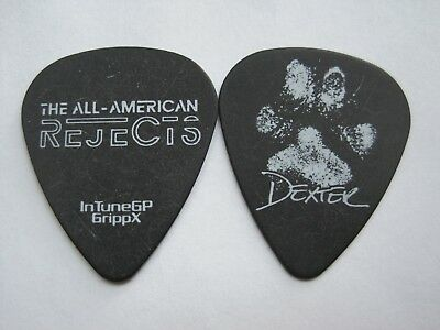 "All American Rejects ""Dexter Pawtograph"" guitar pick"
