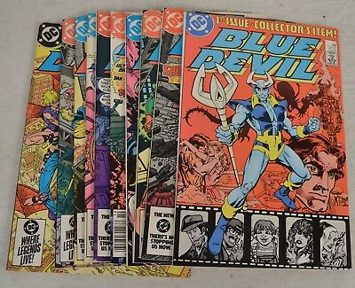 Blue Devil Comic Books 10 Lot 1 2 3 4 5 6 7 8 9 10 NM