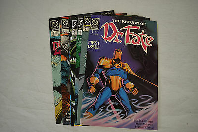 Dr. Fate 2nd Series DC Comic Books 7 Lot 1 2 3 4 5 6 7 VF NM Shawn McManus