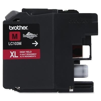 Brother Innobella LC103M 600 Page High-Yield Magenta Ink Cartridge