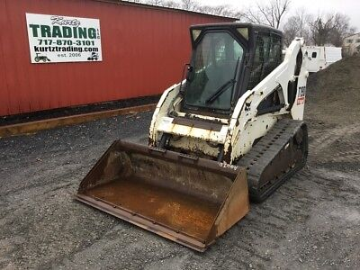 2007 Bobcat T190 Tracked Skid Steer Loader w/ Cab & Joysticks. Coming In Soon!