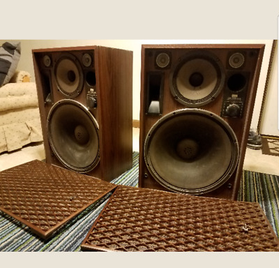 Rare Vintage Sansui Sp-7500X Speakers