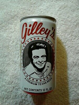 Vintage Mickey Gilley's Texas Beer Can