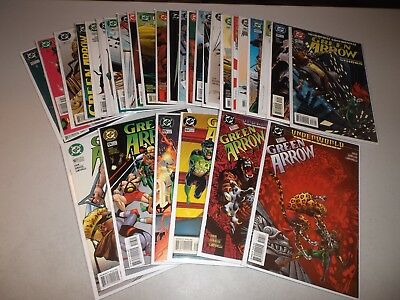 Green Arrow #102-137 (Not complete lot of 30)  1987 series 137 136 135 134 133
