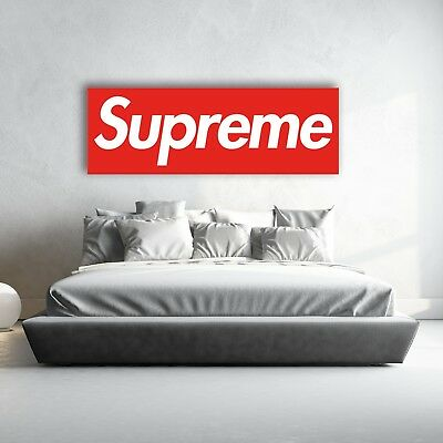 BRAND NEW SUPREME WALL POSTER MURAL 20x60 inch (50x150 cm) | Premium