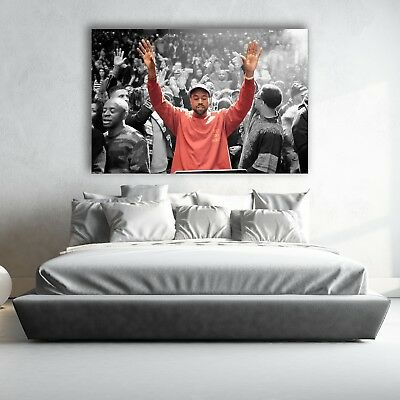 BRAND NEW KANYE MSG WALL POSTER MURAL | Small Medium Large | Premium Paper