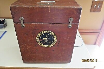 W&L.E. Gurley ,NY. Theodolite transit antique surveying instrument Cook County